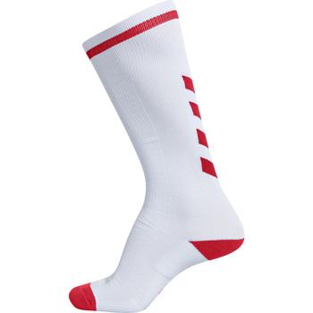 Dodatki Dziecko Skarpetki sportowe  Hummel Chaussettes  elite indoor high blanc/rouge