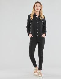 tekstylia Damskie Kombinezony / Ogrodniczki Betty London OPANTS Czarny
