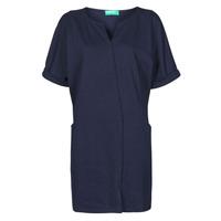 tekstylia Damskie Sukienki krótkie Benetton CAMILA Marine