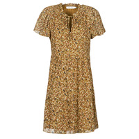 tekstylia Damskie Sukienki krótkie Naf Naf MARIA R1 Camel