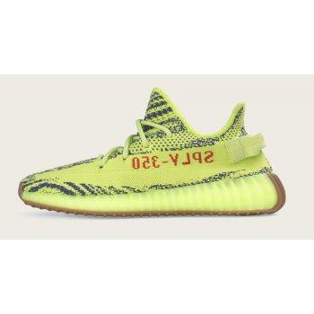 Buty Trampki niskie adidas Originals Yeezy Boost 350 V2 Semi Frozen Yellow Semi Frozen Yellow/Raw Steel-Red