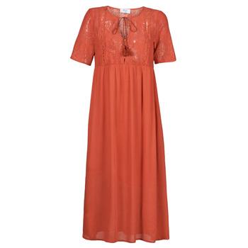 tekstylia Damskie Sukienki długie Betty London ORVILLE Rouille