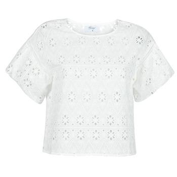 tekstylia Damskie Topy / Bluzki Betty London OCHERIE Biały