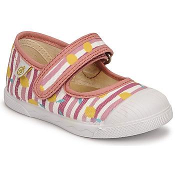 Buty Dziewczynka Baleriny Citrouille et Compagnie APSUT Różowy / Imprimé