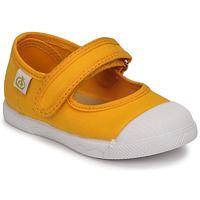 Buty Dziewczynka Baleriny Citrouille et Compagnie APSUT Żółty