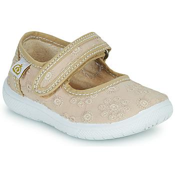 Buty Dziewczynka Baleriny Citrouille et Compagnie OSAPA Beżowy