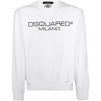 tekstylia Męskie Bluzy Dsquared S74GU0399 Biały