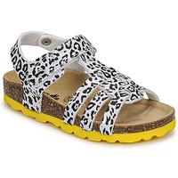 Buty Dziewczynka Sandały Citrouille et Compagnie JANISOL Leopard / Biały / Czarny