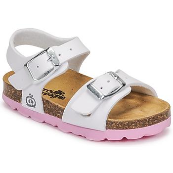 Buty Dziewczynka Sandały Citrouille et Compagnie RELUNE Biały