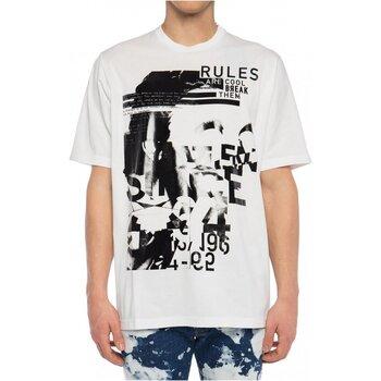tekstylia Męskie T-shirty z krótkim rękawem Dsquared S74GD0530 Biały