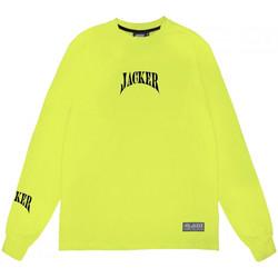 tekstylia Męskie T-shirty z długim rękawem Jacker Corpo Zielony