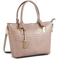 Torby Damskie Torby shopper Christian Laurier NICO rouge