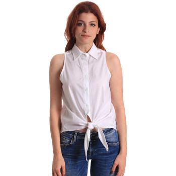 tekstylia Damskie Topy / Bluzki Fornarina BE174573CA1609 Biały