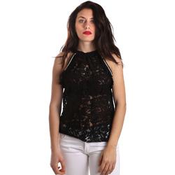 tekstylia Damskie Topy / Bluzki Gaudi 911BD45026 Czarny