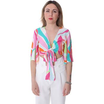 tekstylia Damskie Topy / Bluzki Fracomina FR20SP519 Biały