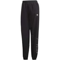 tekstylia Damskie Spodnie dresowe adidas Originals GD2417 Czarny