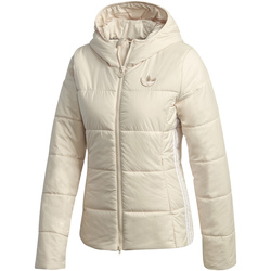 tekstylia Damskie Kurtki pikowane adidas Originals GD2509 Biały