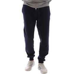 tekstylia Męskie Spodnie dresowe Key Up 2F37I 0001 Niebieski