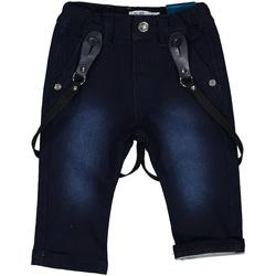 tekstylia Dziewczynka Jeansy slim fit Melby 20F0220 Niebieski