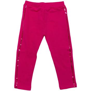 tekstylia Dziewczynka Legginsy Melby 20F2061 Różowy
