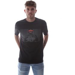tekstylia Męskie T-shirty z krótkim rękawem Sprayground 21SFW004 Czarny