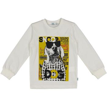 tekstylia Dziecko Bluzy Melby 40C0062 Biały