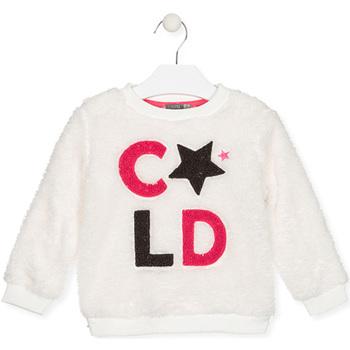tekstylia Dziecko Bluzy Losan 026-6028AL Biały