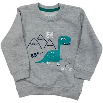 tekstylia Dziecko Bluzy Losan 027-6652AL Szary