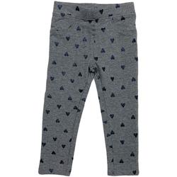 tekstylia Dziewczynka Legginsy Losan 026-6009AL Szary