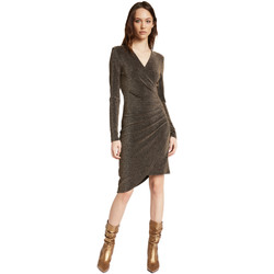 tekstylia Damskie Sukienki krótkie Gaudi 021FD14003 Złoto