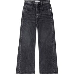 tekstylia Damskie Jeansy bootcut Calvin Klein Jeans J20J214004 Czarny