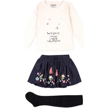 tekstylia Dziecko Komplet Losan 026-8016AL Beżowy