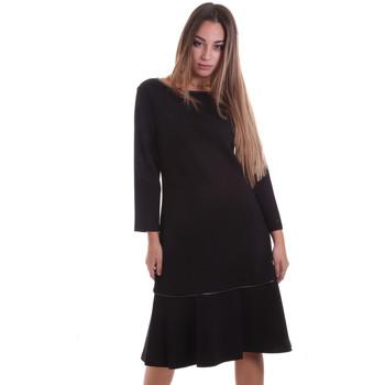 tekstylia Damskie Sukienki krótkie Calvin Klein Jeans K20K202271 Czarny