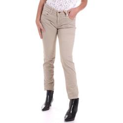 tekstylia Damskie Spodnie z pięcioma kieszeniami Gaudi 821BD25025 Beżowy