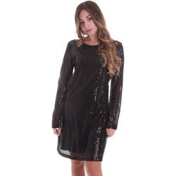 tekstylia Damskie Sukienki krótkie Gaudi 021FD14005 Czarny