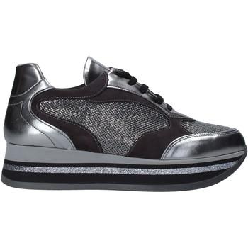 Buty Damskie Trampki niskie Grace Shoes GLAM001 Srebro