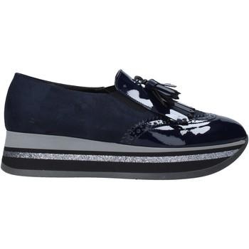 Buty Damskie Mokasyny Grace Shoes GLAM004 Niebieski