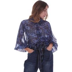 tekstylia Damskie Topy / Bluzki Gaudi 021BD45006 Niebieski