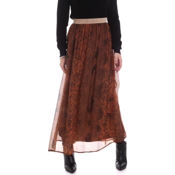 tekstylia Damskie Spódnice Gaudi 021FD75005 Brązowy