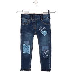 tekstylia Dziecko Jeansy straight leg Losan 026-6019AL Niebieski