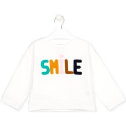 tekstylia Dziecko T-shirty z długim rękawem Losan 026-6029AL Biały