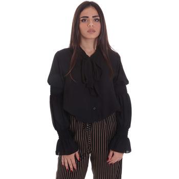tekstylia Damskie Topy / Bluzki Gaudi 021BD45025 Czarny