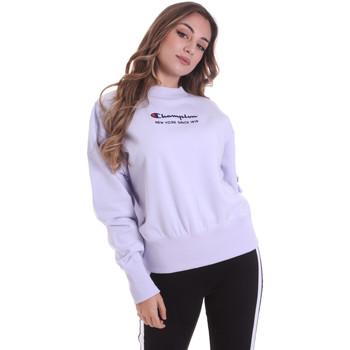 tekstylia Damskie Bluzy Champion 113314 Różowy