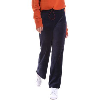 tekstylia Damskie Spodnie dresowe Fila 687958 Niebieski