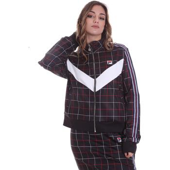 tekstylia Damskie Bluzy dresowe Fila 687850 Czarny