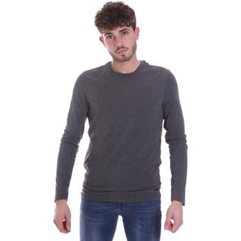 tekstylia Męskie T-shirty z długim rękawem Gaudi 021GU64022 Szary