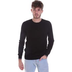 tekstylia Męskie Swetry Gaudi 021GU53001 Czarny