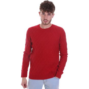 tekstylia Męskie Swetry Gaudi 021GU53034 Czerwony
