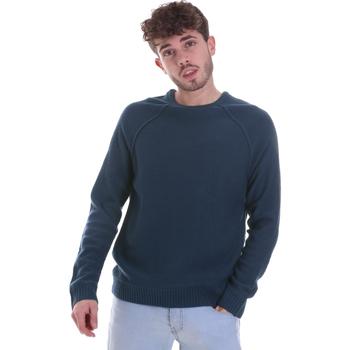 tekstylia Męskie Swetry Gaudi 021GU53041 Niebieski