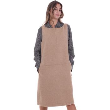 tekstylia Damskie Sukienki krótkie Calvin Klein Jeans K20K202451 Beżowy